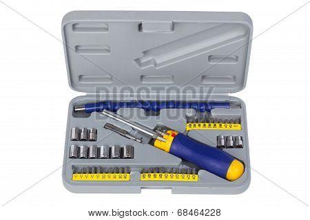 Universal screwdriver set.
