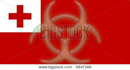 Flag Of Tonga Health Warning