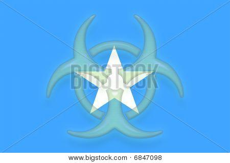 Flag Of Somalia Health Warning