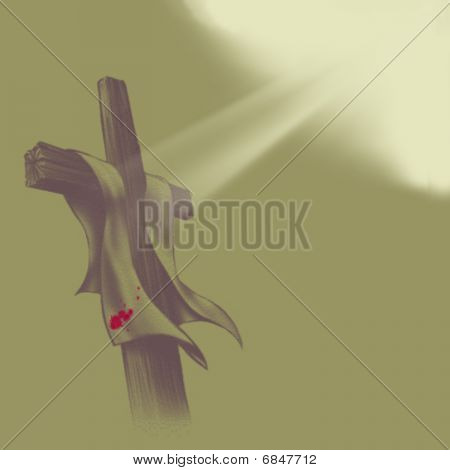 Cross And light