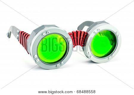 Prism Green Glass