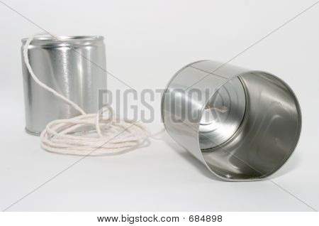 Tin Can Telephones, Close Up
