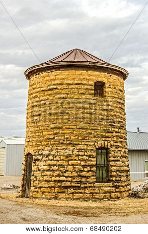 Water Tower And Jail