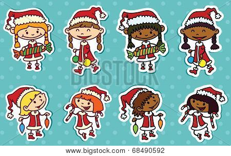 Christmas Stikers