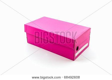 Pink Shoe Box.