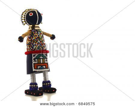 Ndebele maiden doll