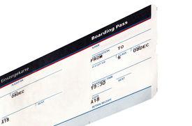 image of passport template  - grungy  - JPG