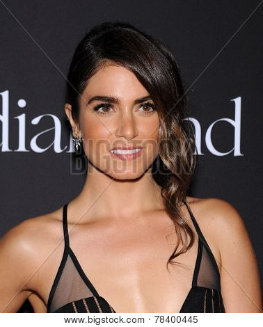 LOS ANGELES - DEC 11:  Nikki Reed arrives to the The First Annual Diamond Ball on December 11, 2014 in Beverly Hills, CA