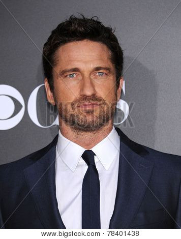 LOS ANGELES - NOV 14:  Gerard Butler arrives to the The Hollywood Film Awards 2014 on November 14, 2014 in Hollywood, CA