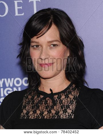 LOS ANGELES - AUG 14:  Franka Potente arrives to the HFPA Annual Installation Dinner 2014 on August 14, 2014 in Beverly Hills, CA