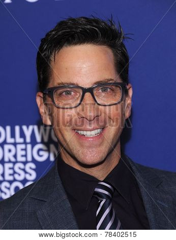 LOS ANGELES - AUG 14:  Dan Bucatinsky arrives to the HFPA Annual Installation Dinner 2014 on August 14, 2014 in Beverly Hills, CA