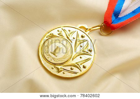 Metal Medal First Place