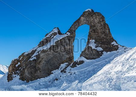L'Aiguille Percee or Eye of the Needle