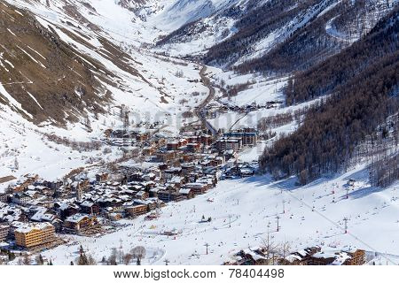View of  Val d'Iser