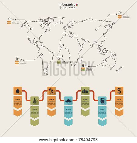 Oil infographic.