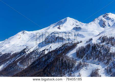 Landscape in Val d'Iser