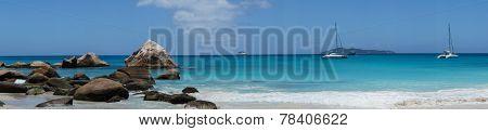 A Panorama On The Beach