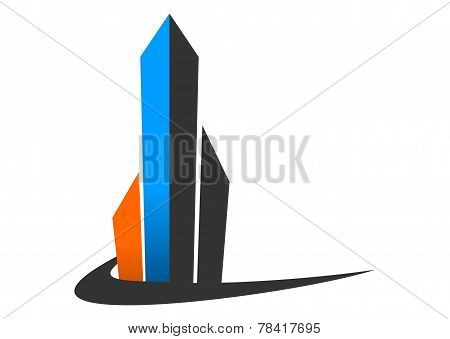 apartment icon, real estate  vector design