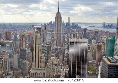 Midtown and the Empire State Building
