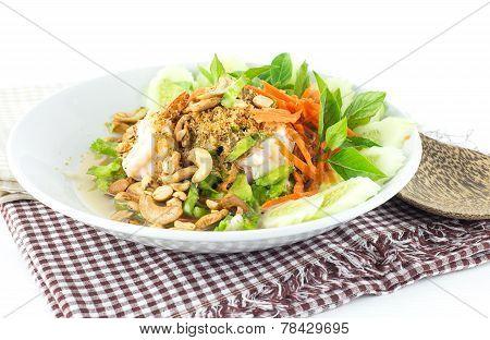 Thai Food - Winged Bean Spicy Salad