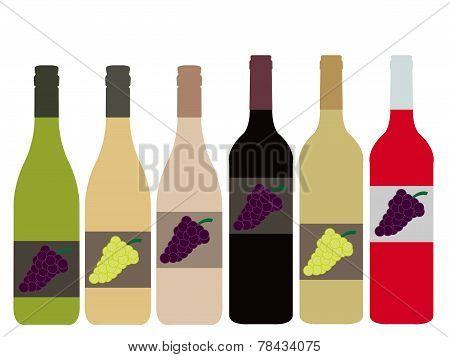 Different Kinds Of Wine Bottles