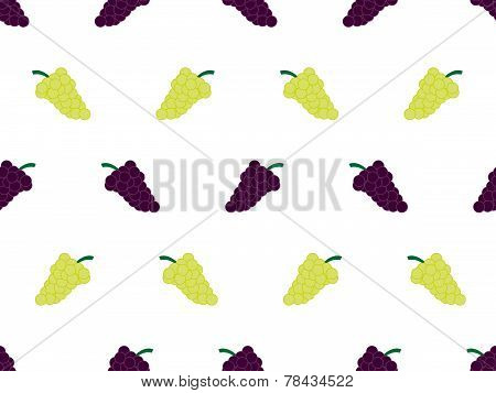 Grapes Background White