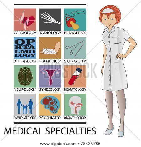 medical specialties