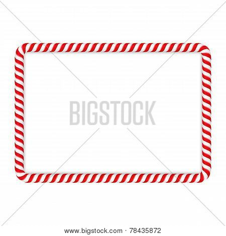 Candy Cane Frame