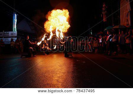 Performing Arts Fire Sword Dance