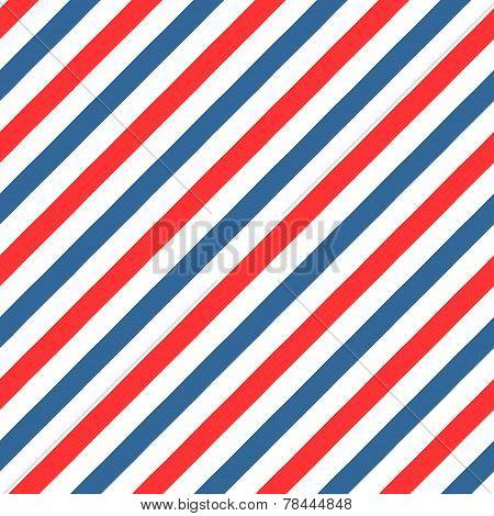 Vintage styled Barber Shop seamless pattern
