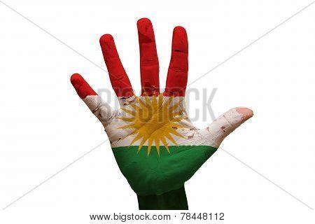 Palm Flag Kurdistan
