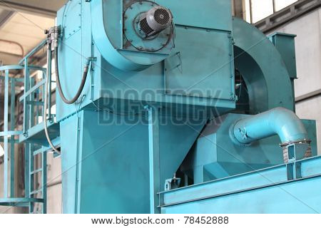 Head Of The Shot Blast Cleaning Machines