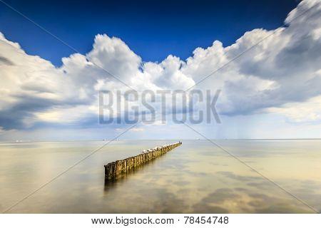 Minimalistic Seascape