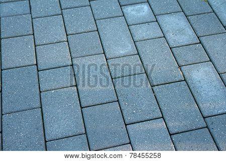 Details Of  Gray Stone Garden Tiles