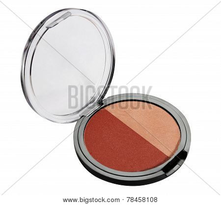 Eye shadows and blush