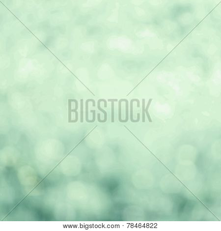 Beautiful Abstract Spring Background With De Focused Bokeh Lights. Spring Or Summer Abstract Nature