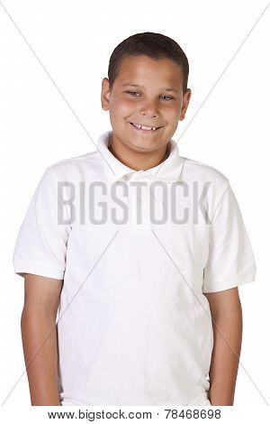 Handsome Casual Hispanic Boy
