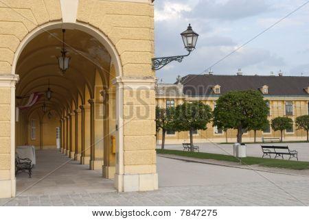 Colonnade Of Schönbrunn