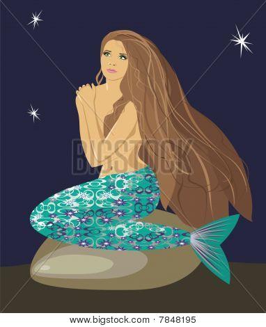Mermaid In The Night.