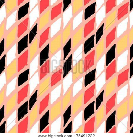 Vector seamless bold harlequin pattern