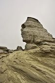 stock photo of wraith  - Rock formation in the Carpathian Mountains  - JPG