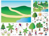 stock photo of nic  - Game for children  - JPG