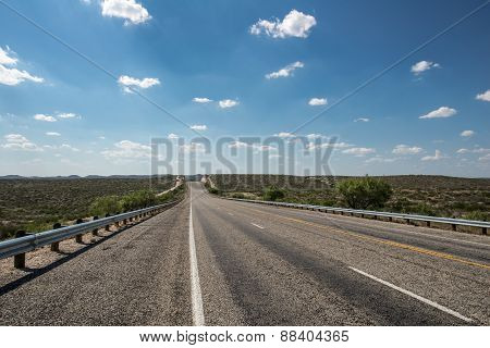 Highway Under the Clouds