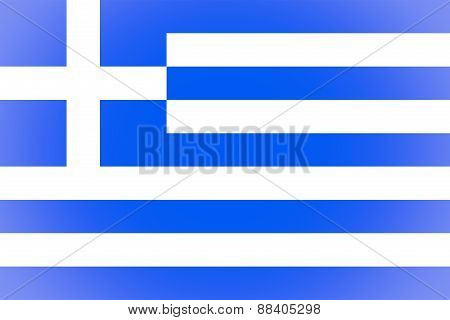 Greece Flag Vignetted