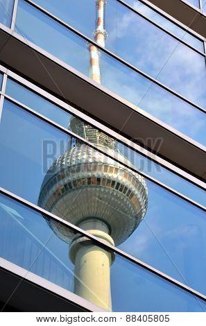Berlin Tv Tower, Germany.