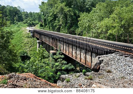 Train Bridge In Tennessee