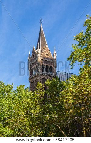 St Michael Uniting Church tower