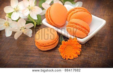 Delicious cakes (macaroon - macaron)