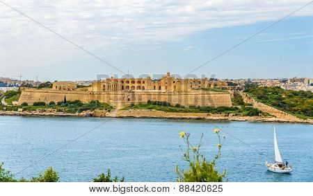 View Of Fort Manoel Near Valletta - Malta