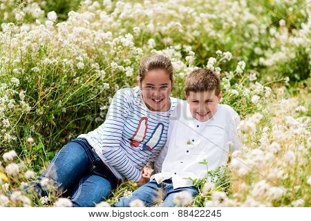 Playing Among The Flowers 22